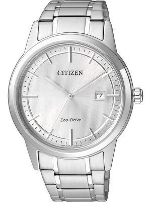 Часы AW1231-58A CITIZEN. Цвет: серебристый