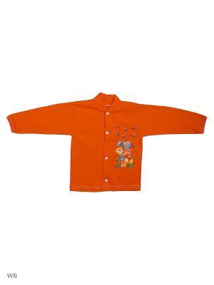 Кофточка Babycollection. Цвет: оранжевый