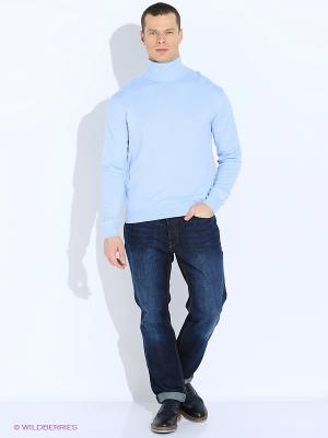 Свитер MAER. Цвет: голубой