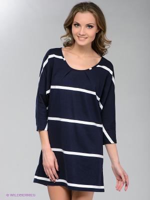 Платье Pura. Цвет: темно-синий