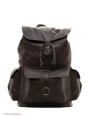 Рюкзак ШК обувь. Цвет: коричневый
