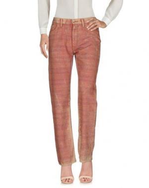 Повседневные брюки JUNYA WATANABE COMME DES GARÇONS. Цвет: ржаво-коричневый