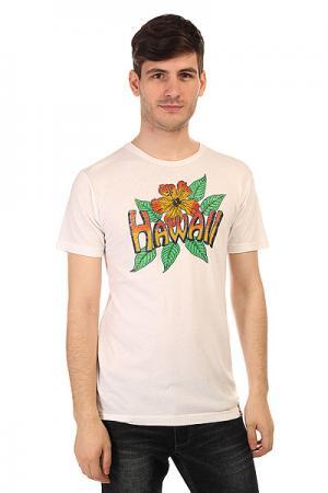 Футболка  Vintage Hawaii White Lost. Цвет: белый