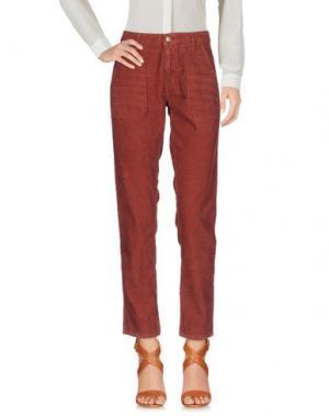 Повседневные брюки BA&SH. Цвет: коричневый