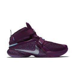 Мужские баскетбольные кроссовки  Zoom LeBron Soldier 9 FLYEASE Nike. Цвет: пурпурный