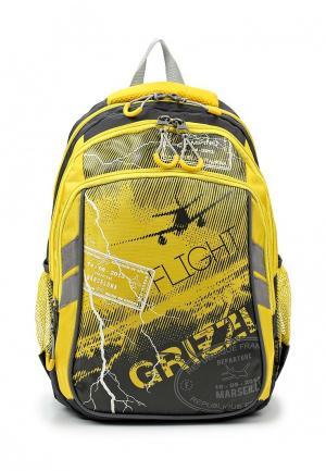 Рюкзак Grizzly. Цвет: желтый