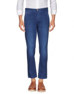 Повседневные брюки ZERO. Цвет: синий
