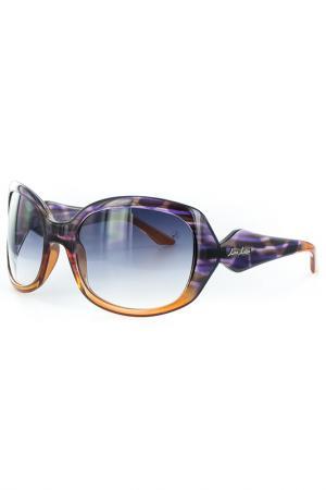Очки солнцезащитные Lina Latini. Цвет: сиреневый