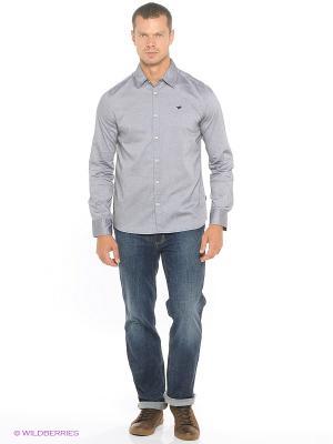 Рубашка MUSTANG. Цвет: сиреневый