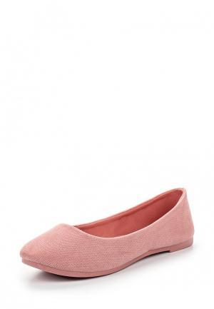 Балетки Ideal Shoes. Цвет: розовый