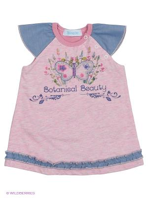 Платье Бимоша. Цвет: розовый, синий