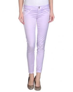 Повседневные брюки JCOLOR. Цвет: сиреневый