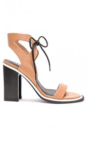 Обувь на каблуке dolly Sol Sana. Цвет: цвет загара