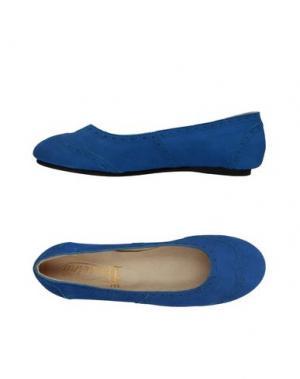 Балетки VIRREINA. Цвет: синий