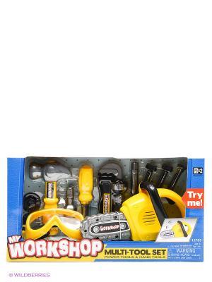 Набор инструментов Keenway. Цвет: желтый, черный, серый