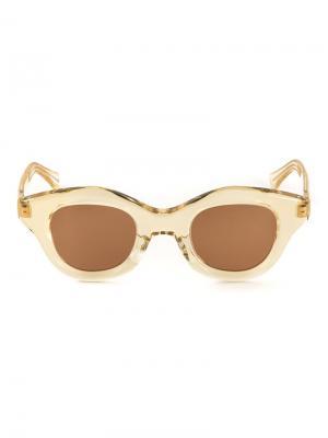 Солнцезащитные очки Hook Hakusan. Цвет: жёлтый и оранжевый