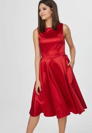Платье Fly. Цвет: красный