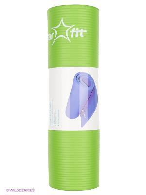 Коврик для йоги STAR FIT FM starfit. Цвет: зеленый