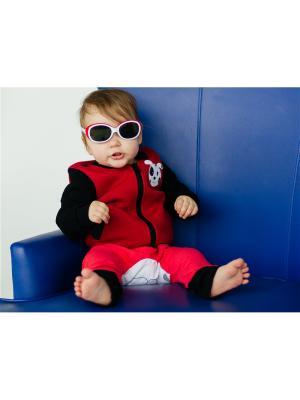 Бомбер детский Далматинец Yuumi. Цвет: красный