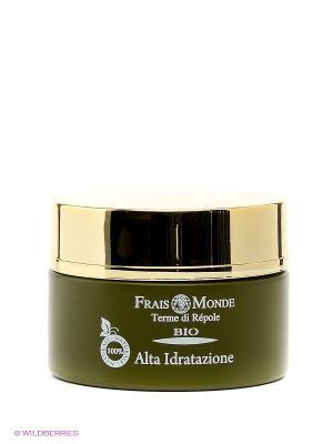 Увлажняющий крем для лица сухой и нормальной кожи Frais Monde. Цвет: белый