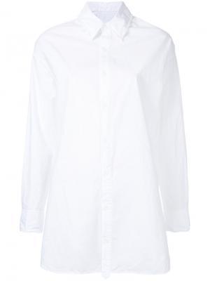 Удлиненная рубашка Astraet. Цвет: белый