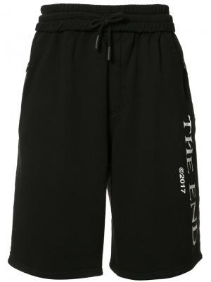 Спортивные шорты Off-White. Цвет: чёрный
