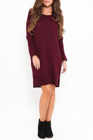 Платье SHES SECRET SHE'S. Цвет: красный