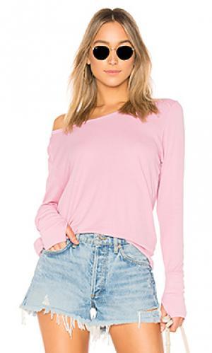 Из термальной ткани LA Made. Цвет: розовый