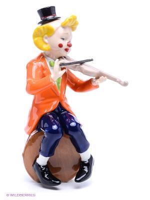Фигурка Клоун Pavone. Цвет: оранжевый, желтый, черный, синий