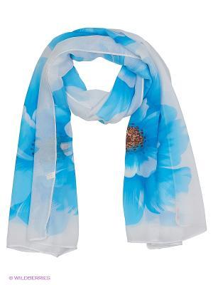 Платок Lovely Jewelry. Цвет: голубой