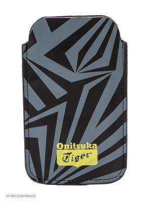 Чехол IPHONE CASE ONITSUKA TIGER. Цвет: серый, черный