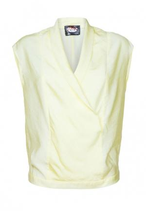 Блуза Mayamoda. Цвет: желтый