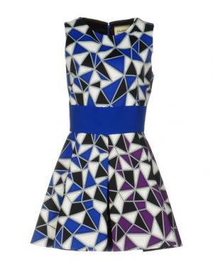 Короткое платье FAUSTO PUGLISI. Цвет: ярко-синий