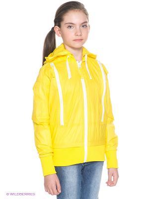 Куртка Orby. Цвет: желтый