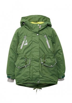 Куртка Oldos. Цвет: зеленый
