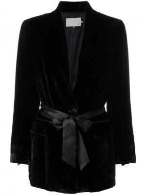 Пиджак с поясом  LAutre Chose L'Autre. Цвет: чёрный