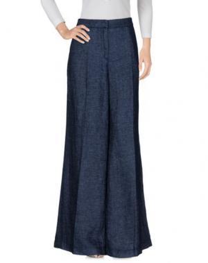 Джинсовые брюки GOTHA. Цвет: синий