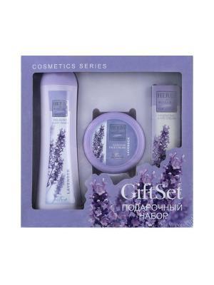 Косметический набор для ухода Biofresh. Цвет: фиолетовый, белый, лиловый
