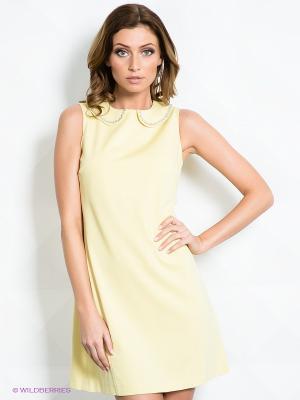 Платье MIMI LA RUE. Цвет: желтый