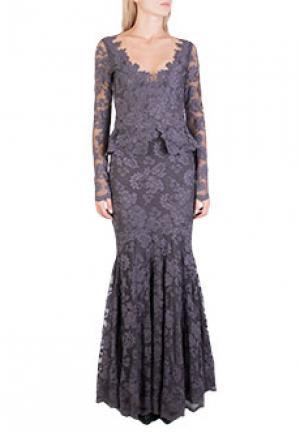 Платье OLVI`S. Цвет: фиолетовый