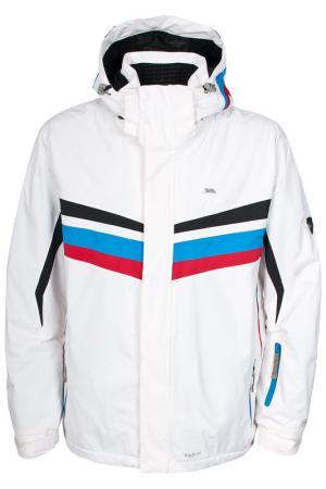 Спортивная куртка Trespass. Цвет: white