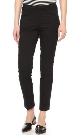 Облегающие брюки с манжетами ATM Anthony Thomas Melillo. Цвет: голубой