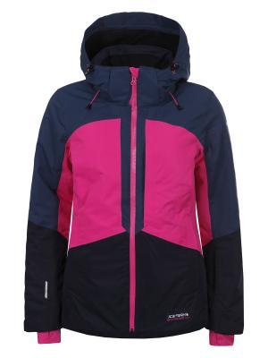 Куртка Icepeak. Цвет: черный, розовый, синий
