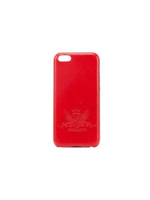 Чехол Versado Клипкейс Iphone 5C. Цвет: красный