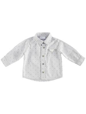 Рубашка CHICCO. Цвет: серый