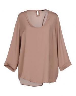 Блузка G.SEL. Цвет: верблюжий