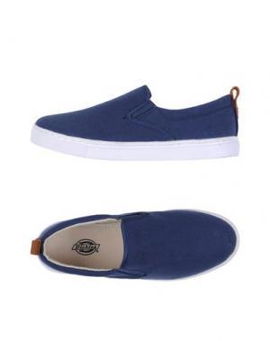 Низкие кеды и кроссовки DICKIES. Цвет: синий