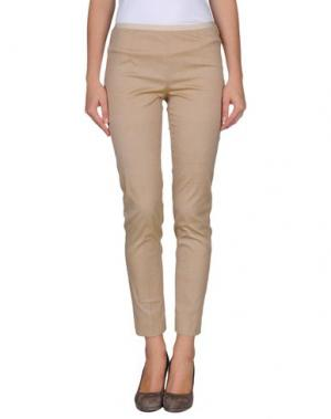 Повседневные брюки QL2 QUELLEDUE. Цвет: песочный