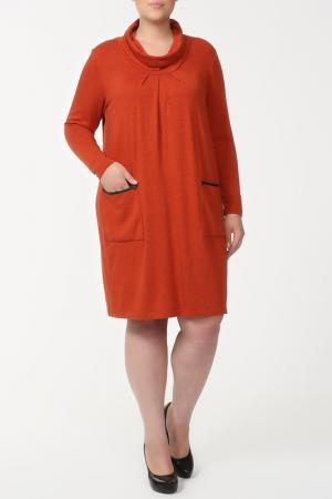 Платье Verpass. Цвет: бежевый