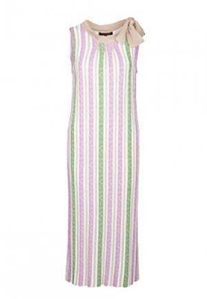 Платье VIA TORRIANI 88. Цвет: бежевый